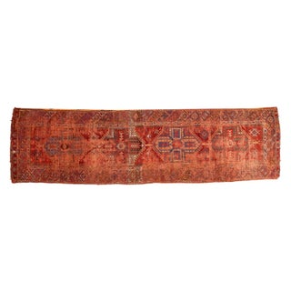 "Antique Anatolian Rug Runner - 3'9"" x 13'10"" For Sale"