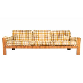 Danish Modern Rosewood Three Seater Sofa For Sale
