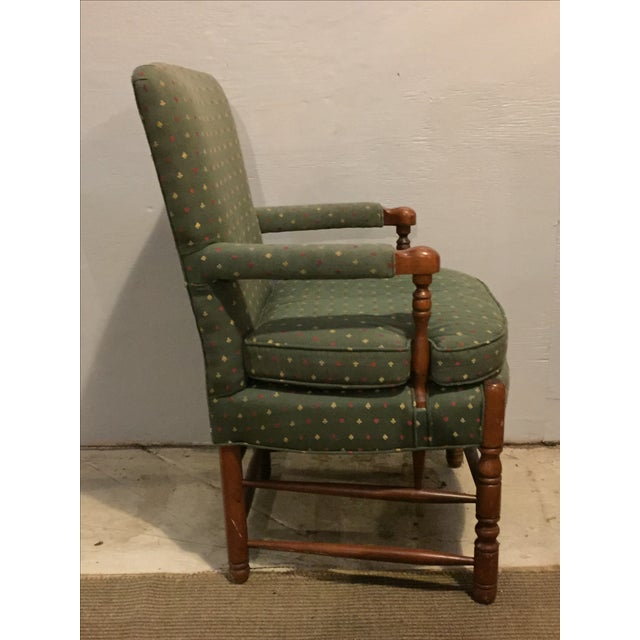 Mid-Century French Club Armchairs - Set of 4 - Image 6 of 10