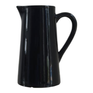 Modern Black High Gloss Pitcher For Sale