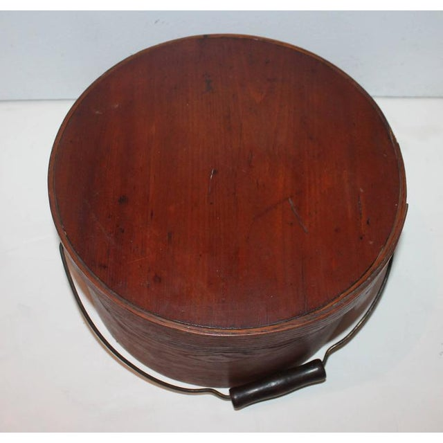 Group of Two 19th Century Bail Handled Pantry Boxes from New England For Sale In Los Angeles - Image 6 of 10