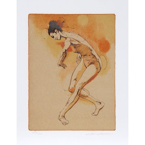 "Image of Jim Jonson, ""Female Dancer,"" Lithograph"