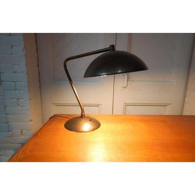 Kurt Versen Modernist Desk Lamp For Sale - Image 4 of 4