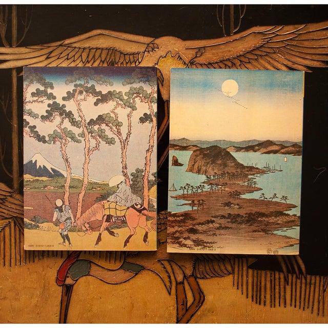 Printmaking Materials Hokusai, Hiroshige, Sharaku, Utamaro - Book Set of 4 For Sale - Image 7 of 13