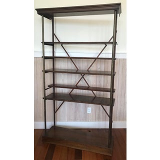 1940s Vintage Wood Etagere Preview
