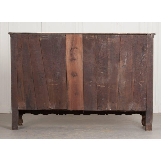 19th Century French Provincial Oak Enfilade from Normandy For Sale - Image 10 of 11
