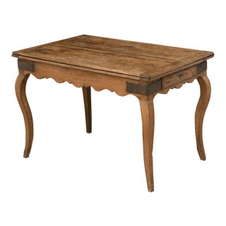 18th Century French Country/Louis XV Period Oak Folding Table