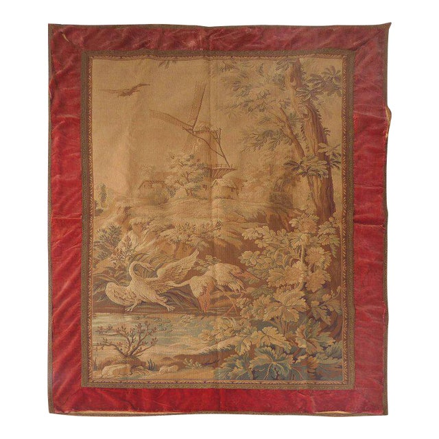 Tapestry Wall Hanging, circa 1920s from a Historic South Florida Home For Sale
