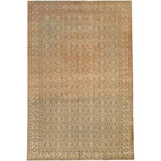 """Vintage Turkish Sivas Carpet - Size: 6' 4"""" X 9' 6"""" For Sale"""