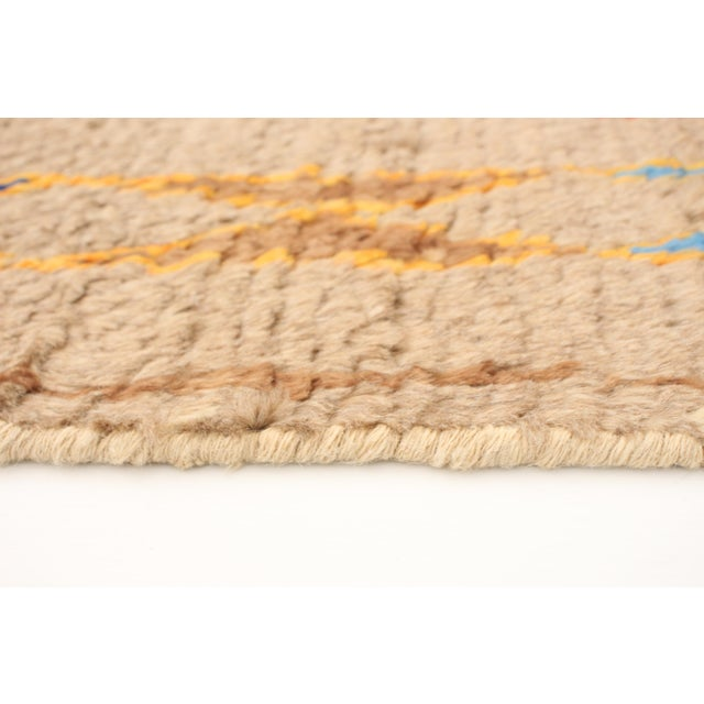 """2010s Moroccan-Style Hand-Knotted Rug-8'10"""" X 12'3"""" For Sale - Image 5 of 9"""