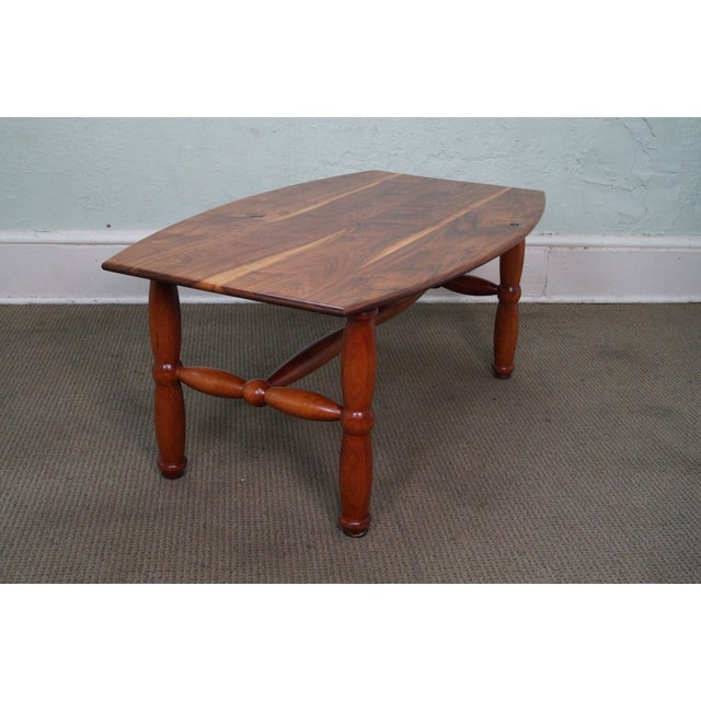 Studio Made Solid Walnut & Mix Wood Coffee Table - Image 4 of 10