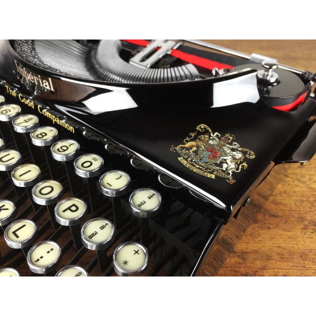 1930s Imperial 'Good Companion' Refurbished Portable Typewriter, Mint Condition - Image 3 of 7