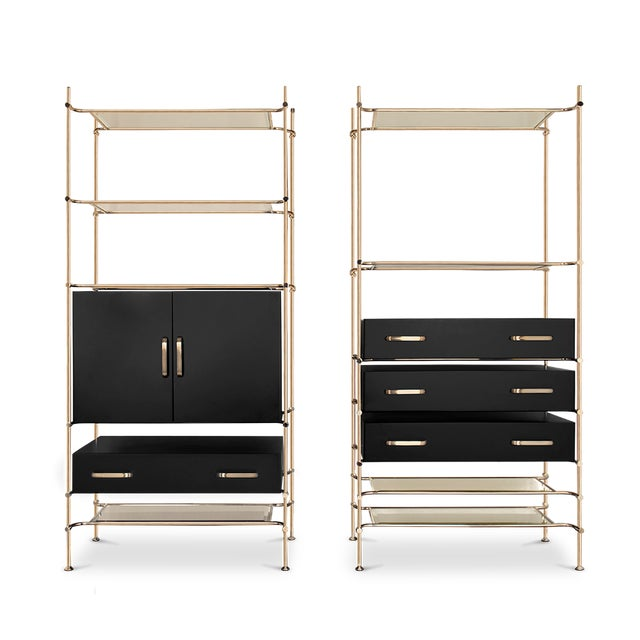 Not Yet Made - Made To Order Mulligan Bookcase From Covet Paris For Sale - Image 5 of 5