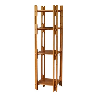 Custom Contemporary Knockdown Etagere For Sale