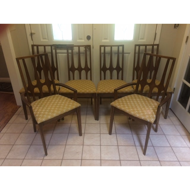 Mid-Century Broyhill Brasilia Dining Chairs - S/6 - Image 2 of 7