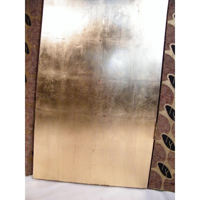 Gold Leaf Floor Screen - 5 Panels - Image 8 of 10