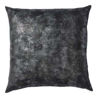 Metallic Snake Print Pillow For Sale