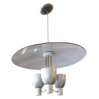 Gerald Thurston Aluminium Pendant for Lightolier For Sale