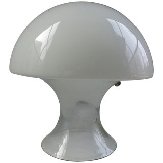 Gino Vistosi Murano Glass Table Lamp For Sale