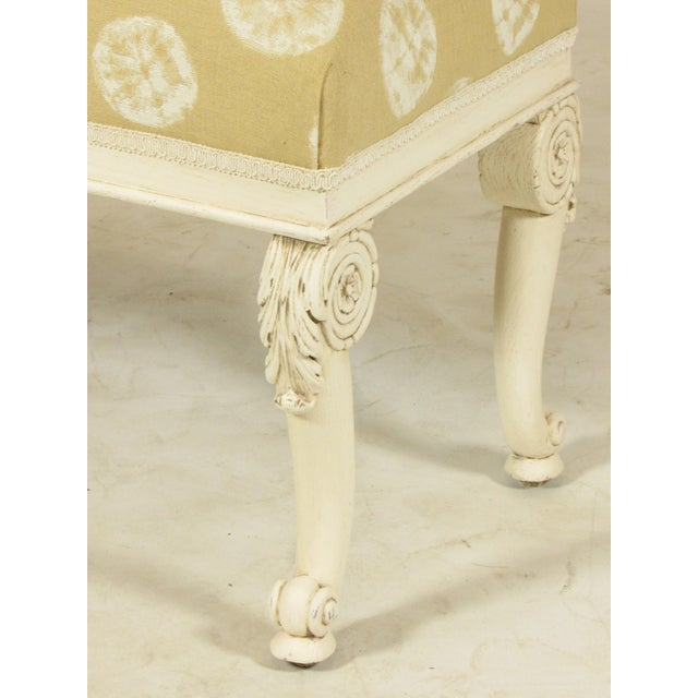 19th C. French Painted Bench - Image 6 of 11