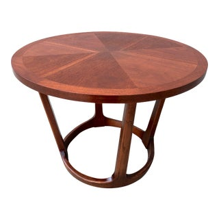 1960s Adrian Pearsall Lane Mid-Century Modern Round Side Table