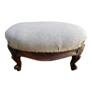 French Country Foot Stool