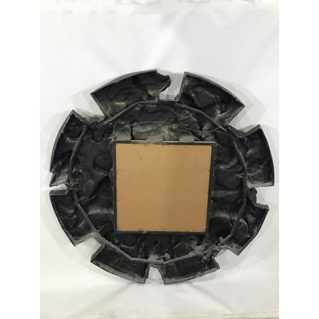 Vintage Finesse Originals Brutalist Zodiac Wall Mirror For Sale - Image 10 of 13