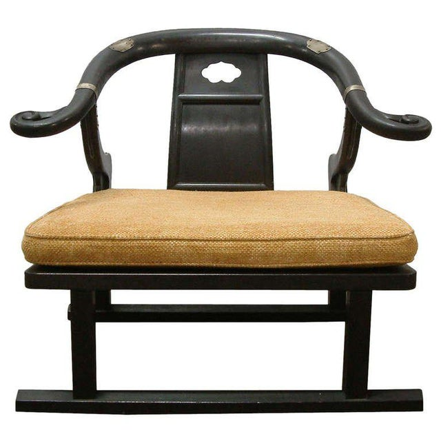 "Michael Taylor for Baker ""Far East Collection"" Lounge Chair For Sale - Image 10 of 10"