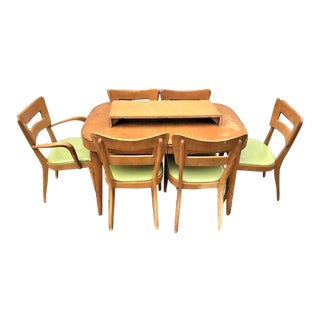 Heywood Wakefield Dining Set - 7 Pieces For Sale