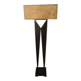 Vintage Brutalist Floor Lamp Circa 1970s, Modernage
