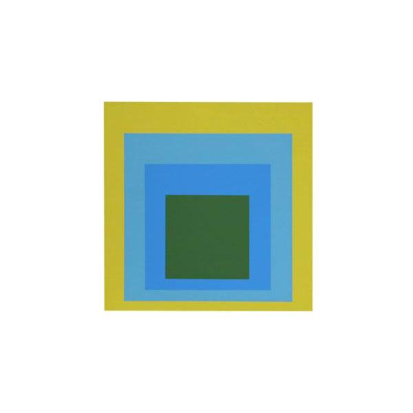 "Josef Albers ""Portfolio 1, Folder 5, Image 1"" Screen Print - Image 1 of 2"