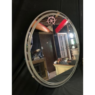Vintage Round Wall Mirror Preview