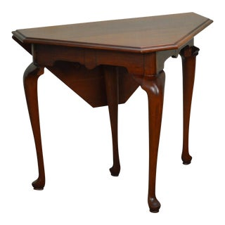 Henkel Harris Solid Cherry Handkerchief Table
