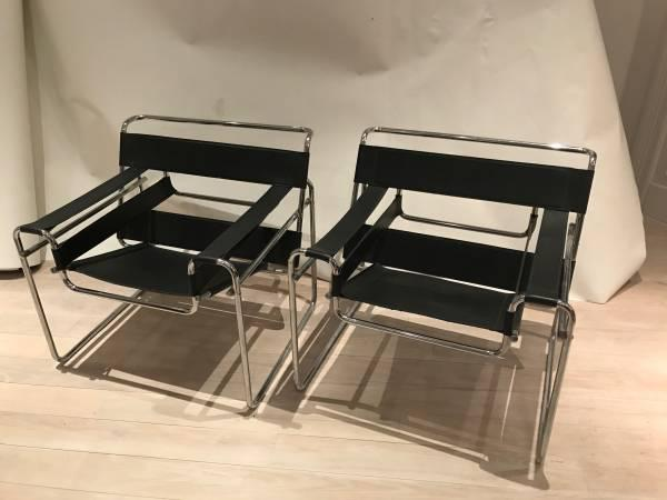 Vintage Marcel Breuer Wassily Style Chair   Image 2 Of 8