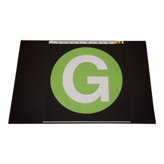 "New York City Subway ""G"" Train Sign"