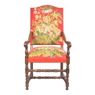 Vintage Traditional Accent Chair