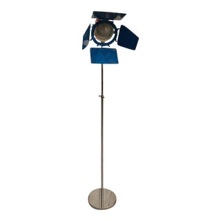 Mid Century Chrome Studio Floor Lamp