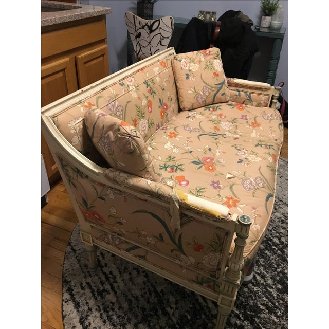 French Style Vintage Loveseat Settee - Image 8 of 8