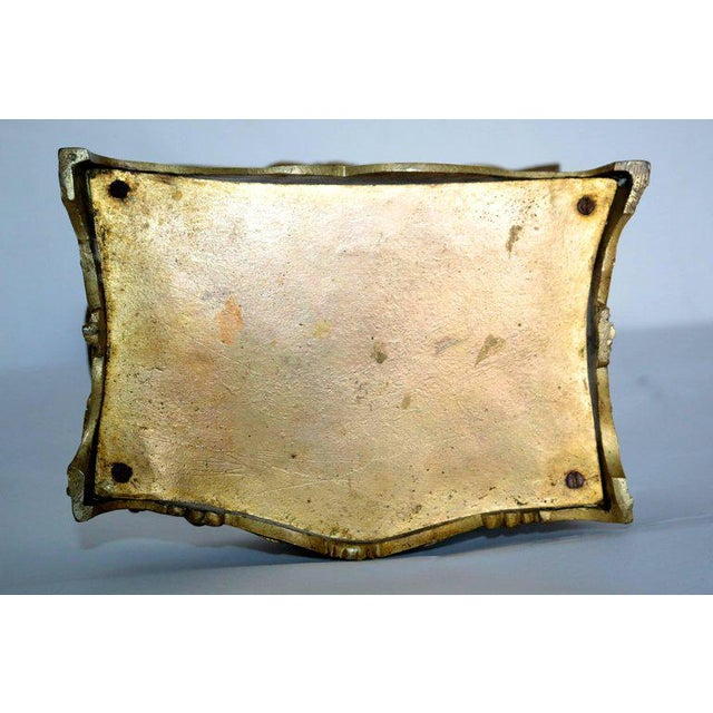 19th Century French Decorated Gilt Bronze Box - Image 2 of 11