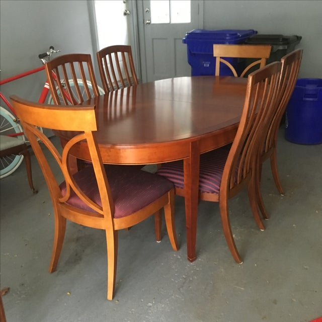 Grange France Dining Table With Six Chairs - Image 2 of 10