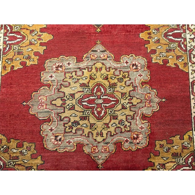 Turkish Oushak Runner - 5' x 13' - Image 5 of 10