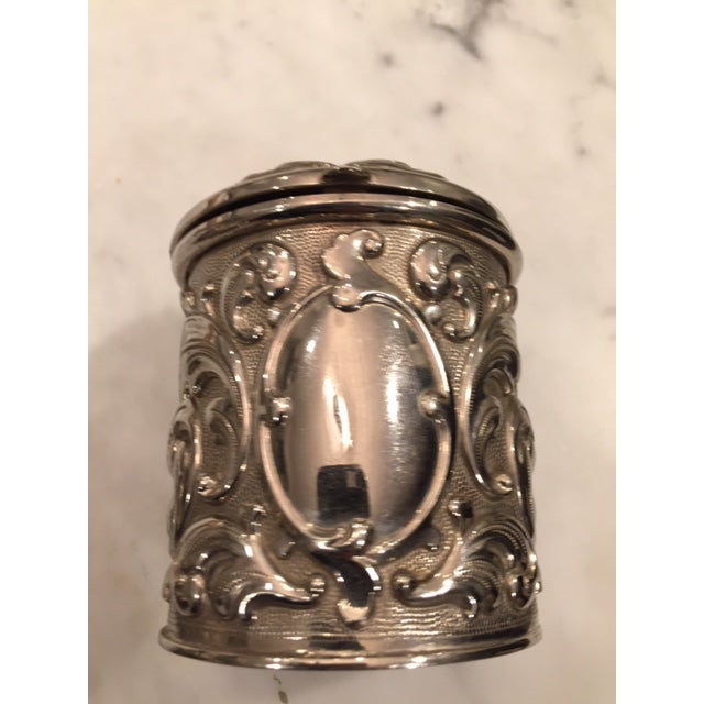 French Silverplate Cigarette Case - Image 4 of 5