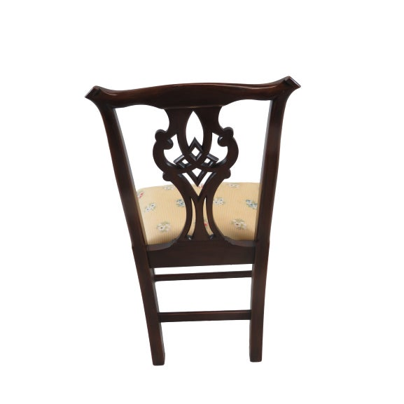 Henkel Harris Chippendale Dining Mahogany Chairs Model 101 - Set of 6 For Sale - Image 9 of 13