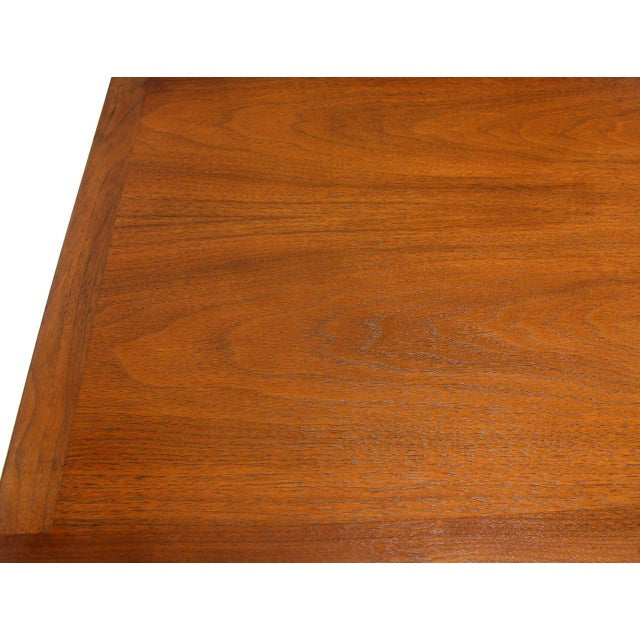 Mid-Century Modern Mid-Century Modern John Stuart Bookmatched Walnut Eight-Drawer Dresser For Sale - Image 3 of 10