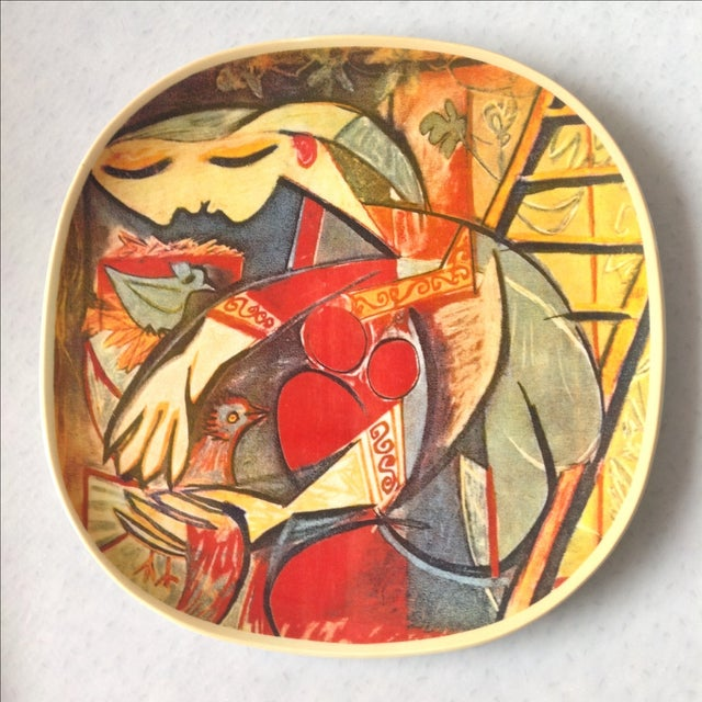 """Picasso Collector's Plate """"Farmer's Wife"""" - Image 2 of 5"""