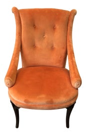 Image of Hollywood Regency Slipper Chairs
