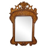 Image of Theodore Alexander Hand Carved Mirror For Sale