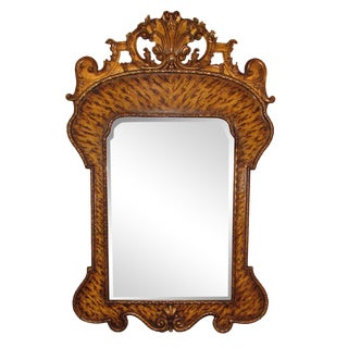 Theodore Alexander Hand Carved Mirror For Sale