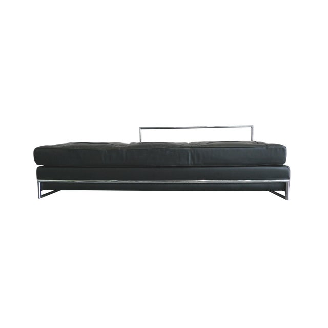 Eileen Gray Chrome and Leather Daybed - Image 1 of 8