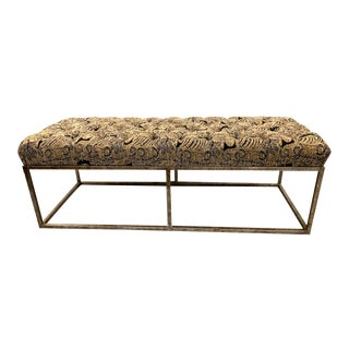 Forged Iron Long Bench For Sale